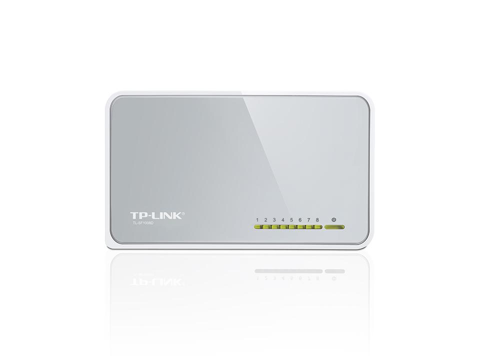 8-Port Desktop Switch -TL-SF1008D....