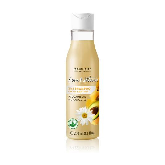 2in1 Shampoo for All hair types with Avocado & Chamomile 32624